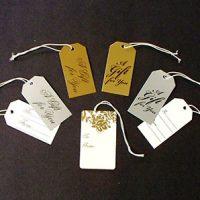 Metallic Gift Tags