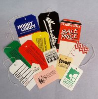 Custom Printed Retail Tags